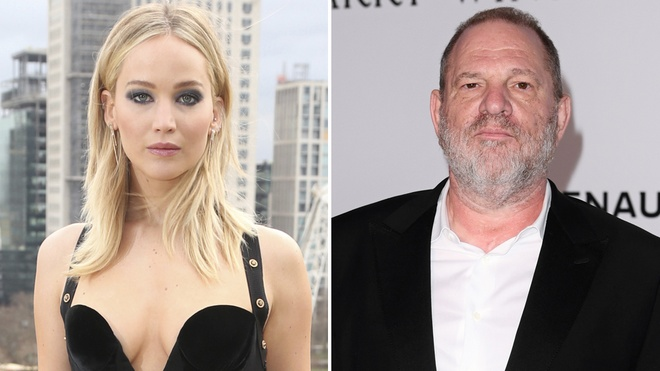 Jennifer Lawrence phan no vi tin don tung ngu voi Harvey Weinstein hinh anh
