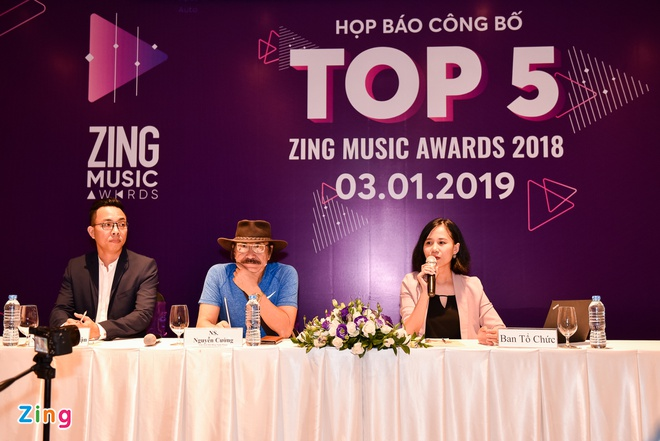 Top 5 Zing Music Awards: Huong Tram va Dat G cung dan dau de cu hinh anh 1