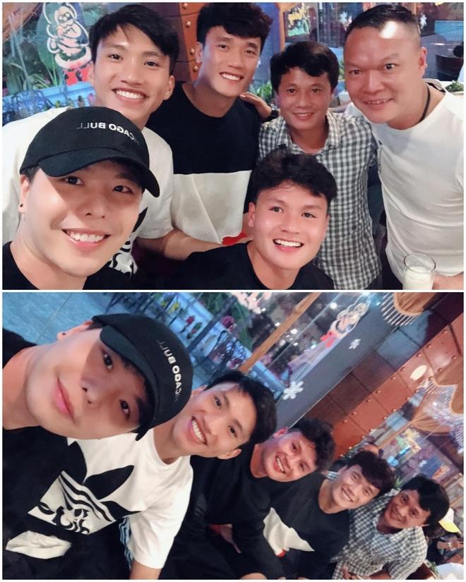 Trinh Thang Binh tham doi bong cu co Quang Hai, Duy Manh va Van Hau hinh anh 1
