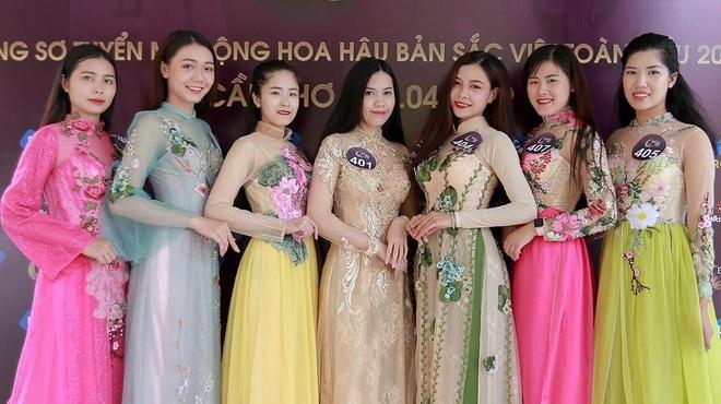 Dan thi sinh Hoa hau Ban sac Viet toan cau 2019 bi che kem sac hinh anh 1