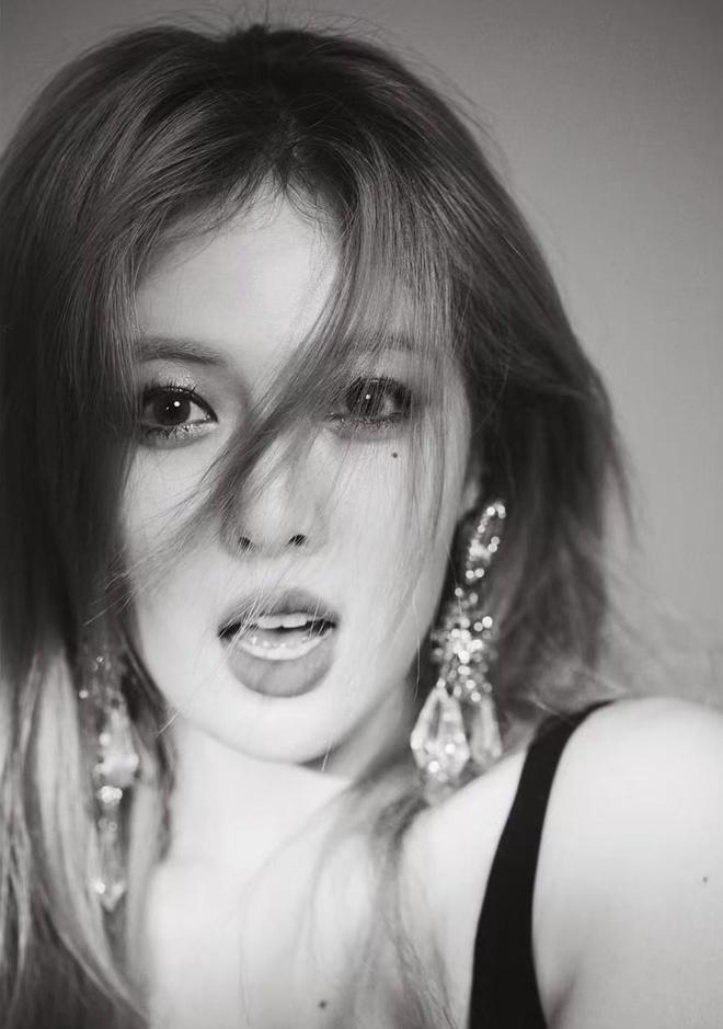 HyunA dien dam do sexy nhung bi che trang diem dang so hinh anh 7
