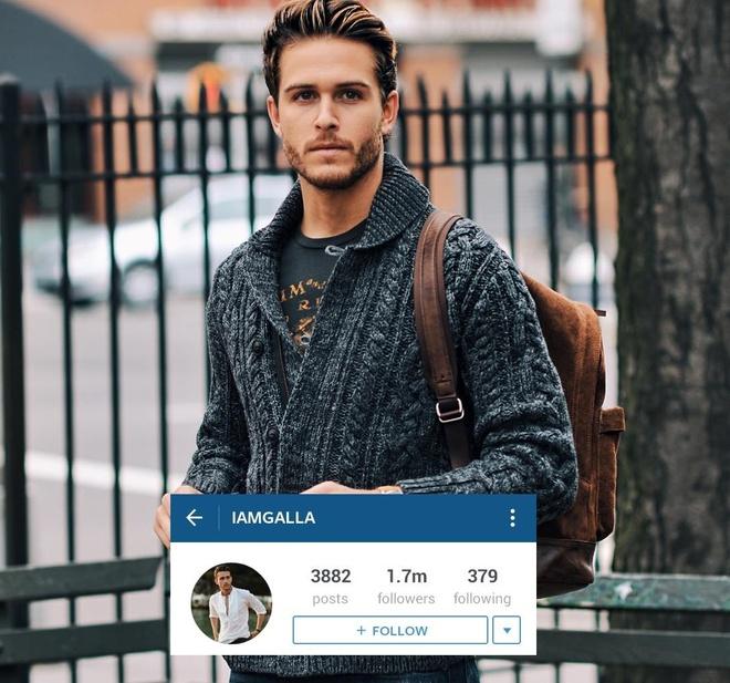 10 trai dep noi tieng thu hut cac co gai tren Instagram hinh anh 1