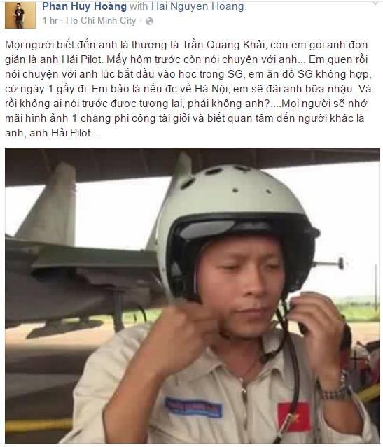 'Phi cong Khai la nguoi thay tuyet voi cua chung toi' hinh anh 1