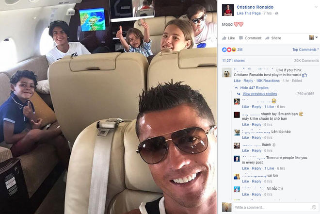 Ronaldo tro thanh nan nhan cua dan mang Viet Nam hinh anh 1