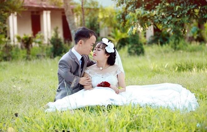 Co gai lay chong lun: 'Tinh yeu cua minh la co tich' hinh anh