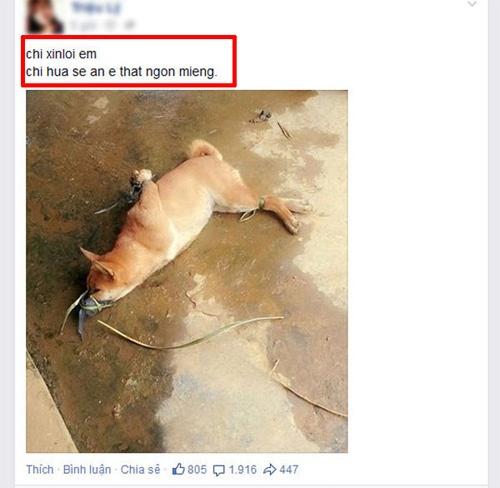 Khoe hinh anh giet khi len Facebook anh 2