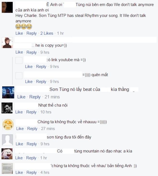 Dan mang lam loan Facebook Charlie Puth vi Son Tung M-TP hinh anh 1