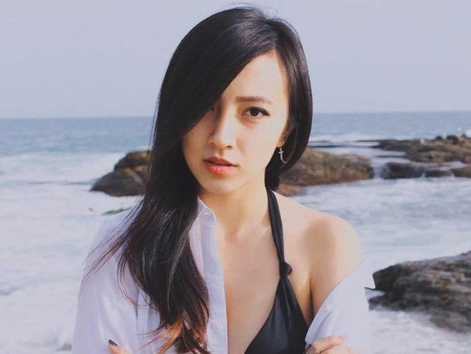 Hot girl goc Viet xinh dep nhung bi an tren mang hinh anh