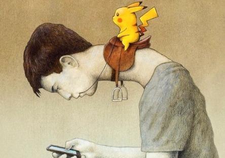 Pokemon Go: Khi thu ao dieu khien nguoi tre hinh anh