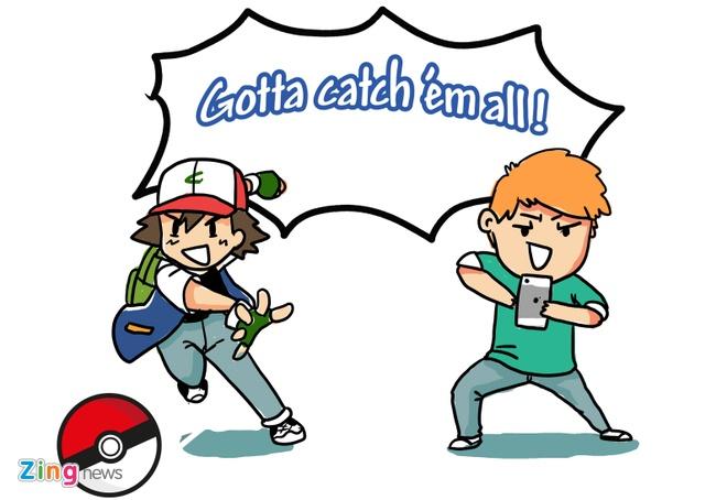Hi hoa: Vi sao Pokemon Go gay nao loan toan the gioi? hinh anh