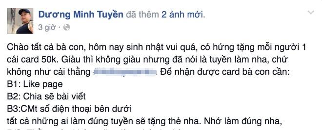'Thanh chui' Duong Minh Tuyen bi bat vi no sung la ai? hinh anh 2