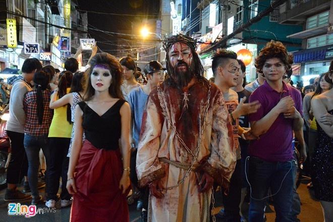 Halloween o Sai Gon anh 1