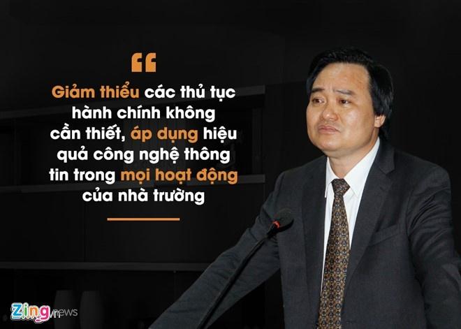 Bo truong Phung Xuan Nha: Quy hoach lai giao duc dai hoc hinh anh 1