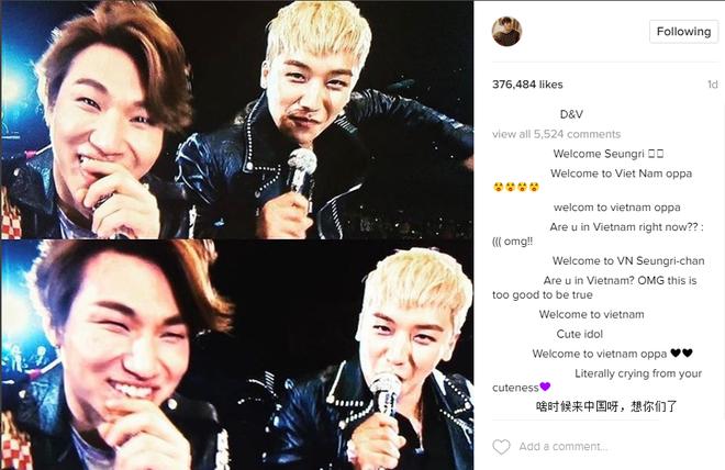 Seungri G-Dragon den Viet Nam anh 2