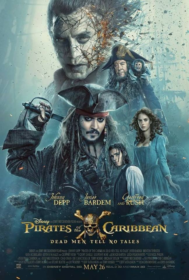 Ca map ma, Jack tre tuoi tung hoanh trong Pirates of the Caribbean 5 hinh anh 1