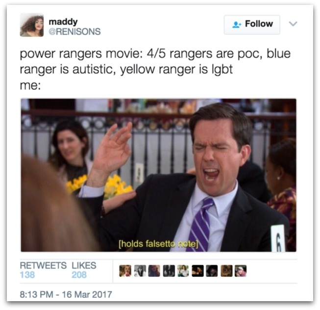 Power Rangers anh 3