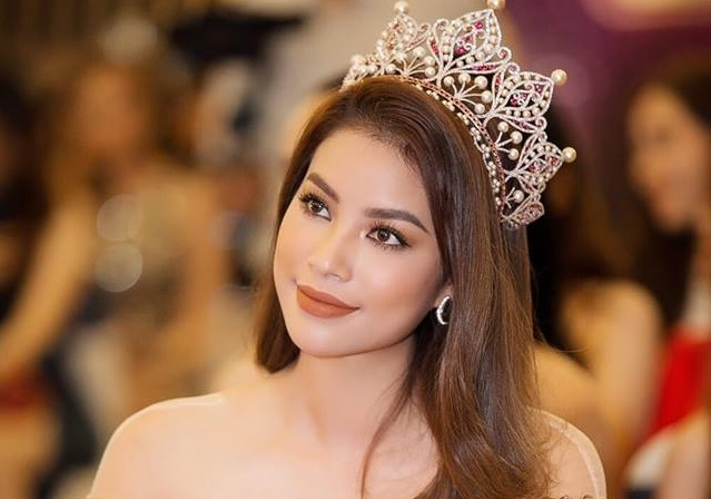 Hoa hau Pham Huong phat hanh single dau tay hinh anh