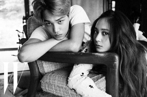 Nguoi ham mo bat ngo khi Kai EXO va Krystal f(x) chia tay hinh anh 1