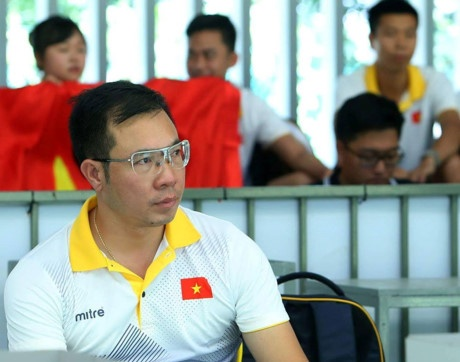 HLV Nguyen Thi Nhung: 'Toi mung vi Hoang Xuan Vinh da thua' hinh anh