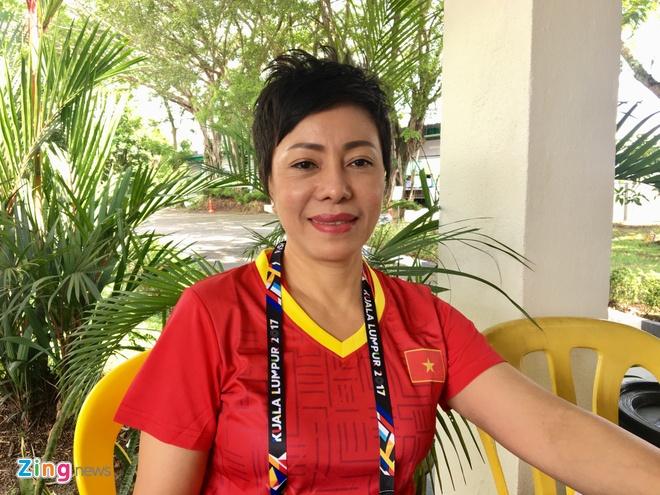 HLV Nguyen Thi Nhung: 'Toi mung vi Hoang Xuan Vinh da thua' hinh anh 1