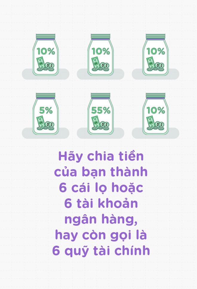 Nguyen tac '6 cai lo' giup ban luc nao cung rung rinh tien bac hinh anh 2