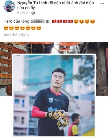 Nguoi ham mo om nhau nhay mua khi U23 Viet Nam danh bai U23 Qatar hinh anh 84