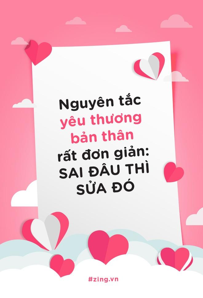 Nguyen tac yeu thuong ban than rat don gian: Sai dau thi sua do hinh anh 1
