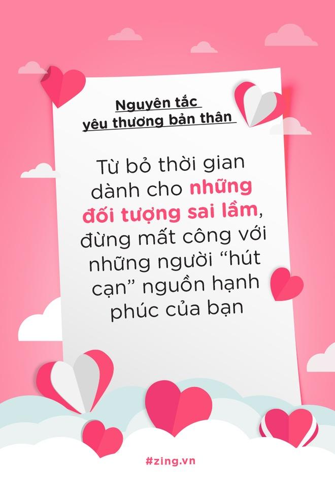 Nguyen tac yeu thuong ban than rat don gian: Sai dau thi sua do hinh anh 2