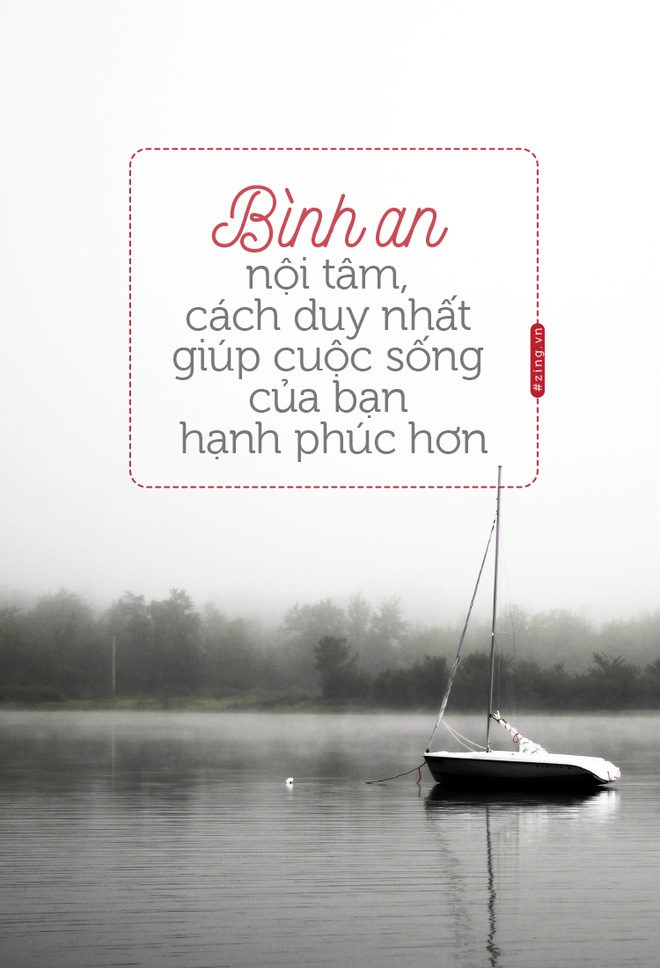 Binh an noi tam, cach duy nhat giup cuoc song hanh phuc hinh anh 1