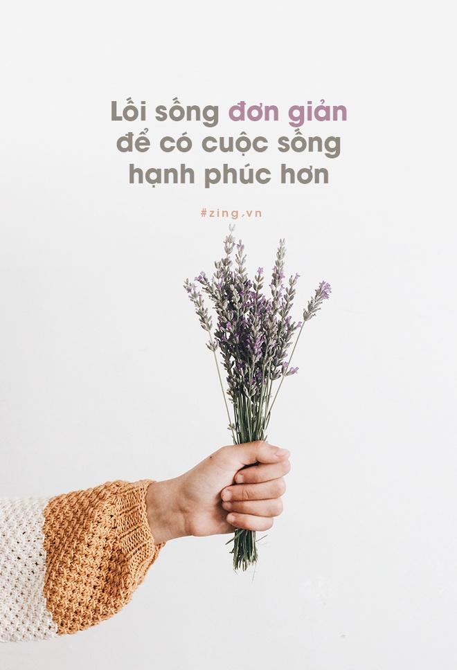 Loi song don gian de co cuoc song hanh phuc hon hinh anh 1