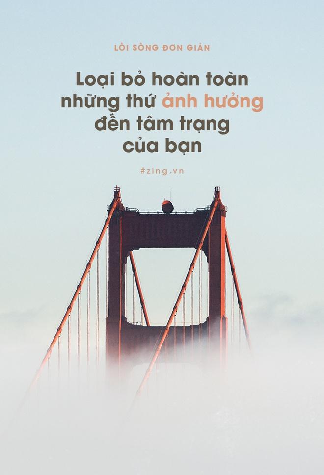 Loi song don gian de co cuoc song hanh phuc hon hinh anh 2