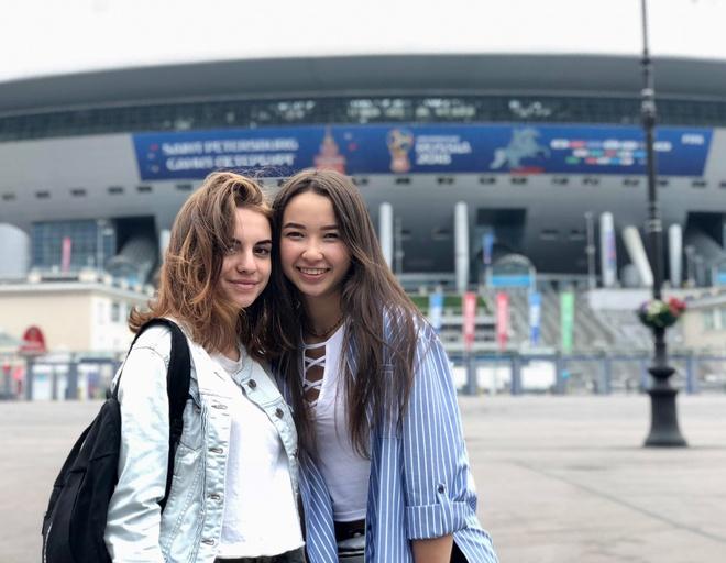 Saint Petersburg mua World Cup: Gap duoc mot nu hoa no ve dem hinh anh