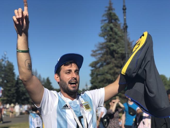 Co dong vien Argentina: 'Chua oi, chung toi da hoi sinh' hinh anh