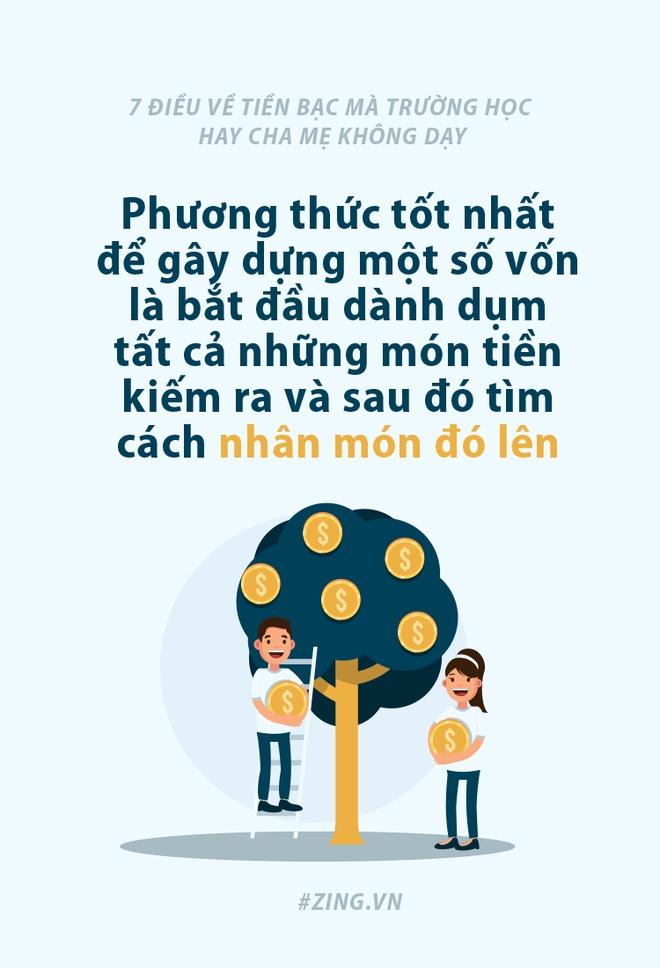 7 dieu ve tien bac ma truong hoc hay cha me khong day hinh anh 6