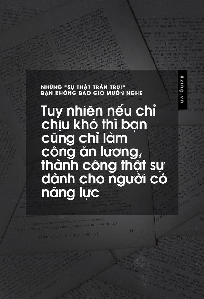 Nhung 'su that tran trui' ban khong muon nghe nhung lai la su that hinh anh 7