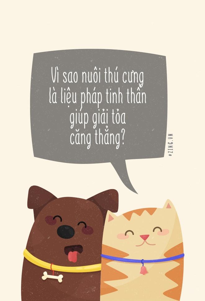 Vi sao nuoi thu cung la lieu phap tinh than giup giai toa cang thang? hinh anh 1