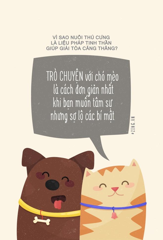 Vi sao nuoi thu cung la lieu phap tinh than giup giai toa cang thang? hinh anh 5