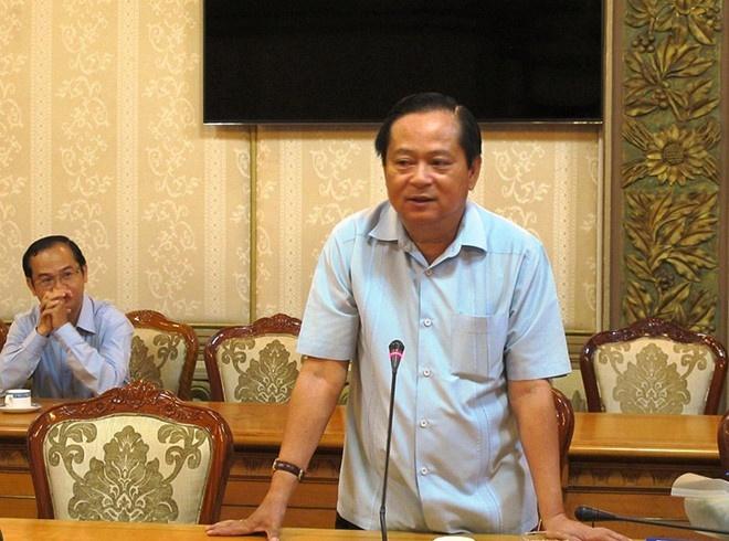 Cuu Pho chu tich TP.HCM Nguyen Huu Tin lien quan Vu 'nhom' the nao? hinh anh
