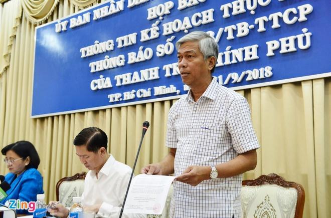 Chu tich HDND TPHCM: Khong doi thoai voi dan lay le roi bac don hinh anh 1
