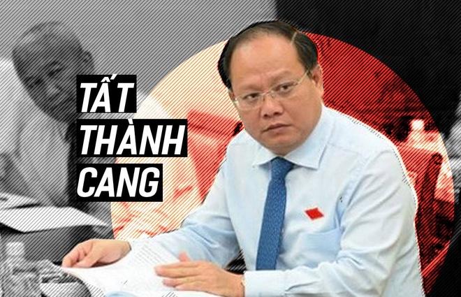 Ong Tat Thanh Cang vang mat tai buoi tiep xuc cu tri hinh anh