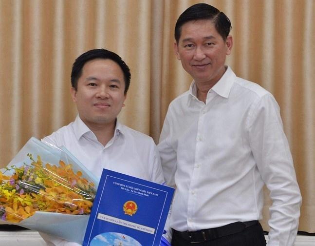 Ong Tu Luong giu chuc Pho giam doc So Thong tin va Truyen thong TP.HCM hinh anh