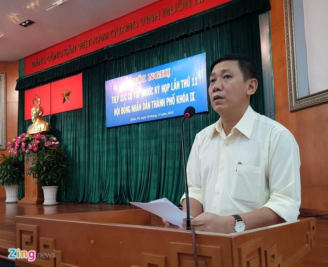 Ong Tat Thanh Cang vang mat tai buoi tiep xuc cu tri hinh anh 1