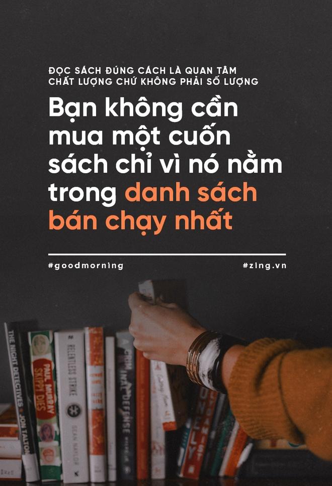 Doc sach dung cach la quan tam chat luong chu khong phai so luong hinh anh 4