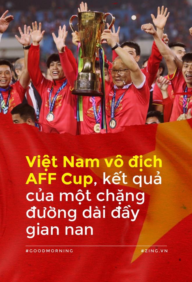 Viet Nam vo dich AFF Cup, ket qua cua mot chang duong dai day gian nan hinh anh