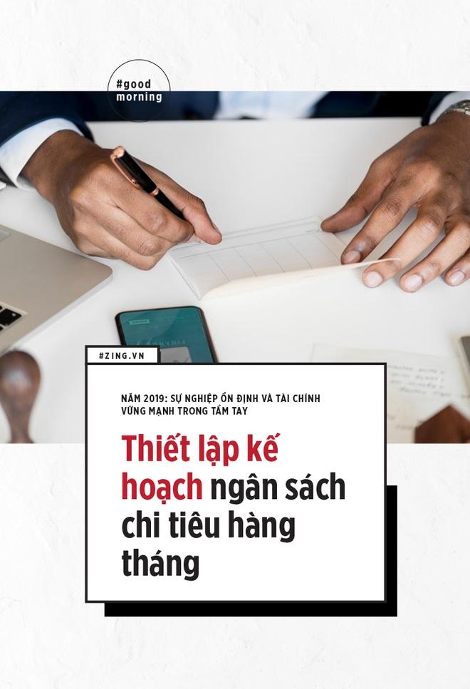 2 muc tieu cho nam 2019: Su nghiep on dinh va tai chinh vung manh hinh anh 2