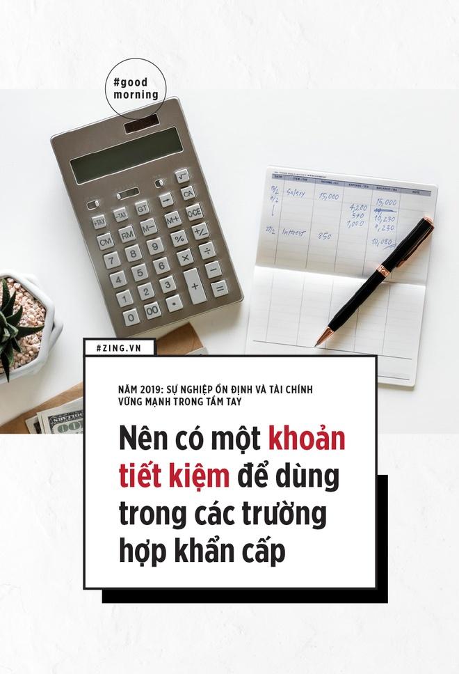 2 muc tieu cho nam 2019: Su nghiep on dinh va tai chinh vung manh hinh anh 5