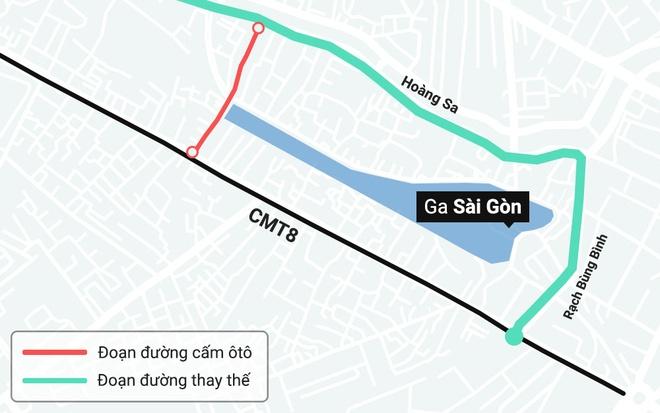 TP.HCM cam luu thong duong gan ga Sai Gon trong Tet Ky Hoi hinh anh 1