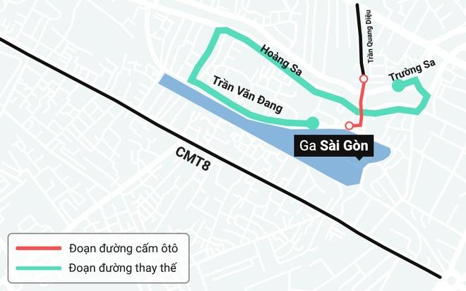 TP.HCM cam luu thong duong gan ga Sai Gon trong Tet Ky Hoi hinh anh 2