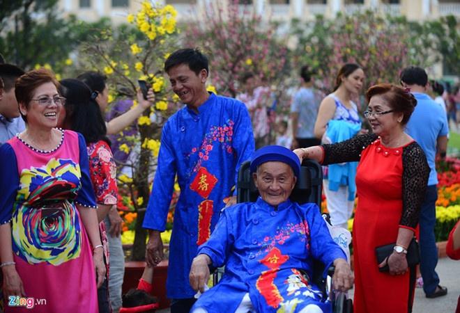 Nhiều lễ hội được tổ chức tại TP.HCM trong dịpTết Kỷ Hợiđể phục vụ người dân. Ảnh:Tùng Tin