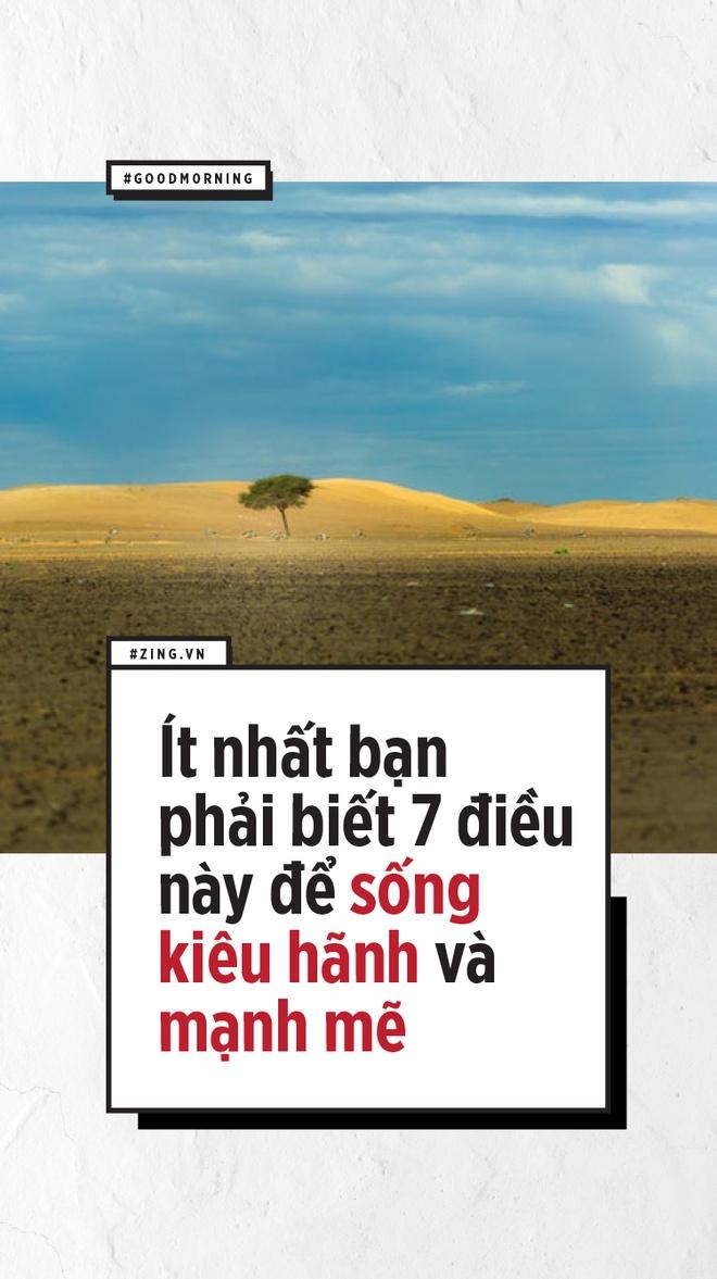 It nhat ban phai co 7 dieu nay de song kieu hanh va manh me hinh anh 1